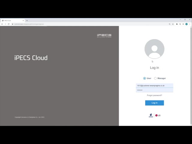 How to use iPECS Cloud Webfax